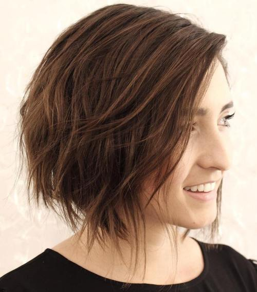 Strange 40 Cute Looks With Short Hairstyles For Round Faces Short Hairstyles For Black Women Fulllsitofus