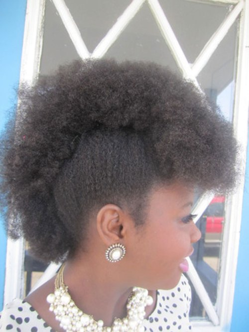 frohawk for natural hair