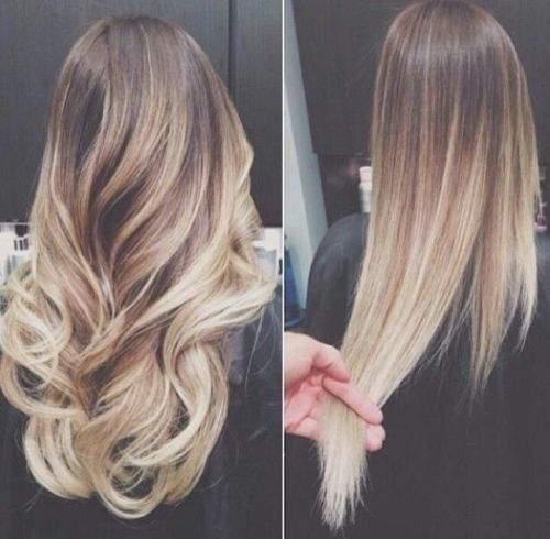 Blonde ombre hair to charge your look with radiance blonde ombre for medium brown hair urmus Image collections