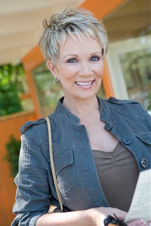 Over 50 Hairstyles hairstyles for the over 50 women fine hair are very limited when it comes to style Short Pixie Hairstyle For Women Over 50