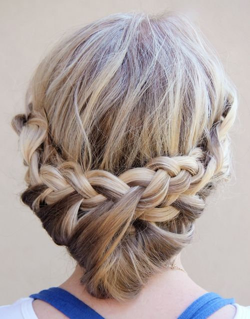 easy hair up styles for medium length hair 80 easy updo hairstyles for medium length hair 6676