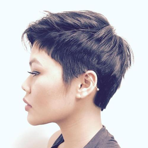 Choppy Pixie Haircut