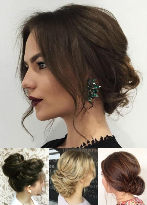 60 easy updo hairstyles for medium length hair in 2017 messy bun updos urmus Choice Image