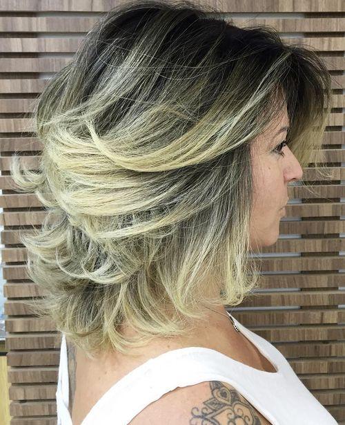 Voluminous Formal Hairstyle For Medium Hair