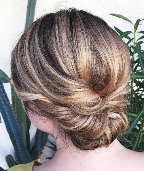 60 Trendy Hochsteckfrisuren Für Mittellanges Haar Neue Haarmodelle