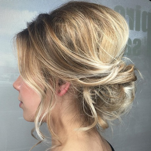 60 Easy Updo Hairstyles For Medium Length Hair In 2020
