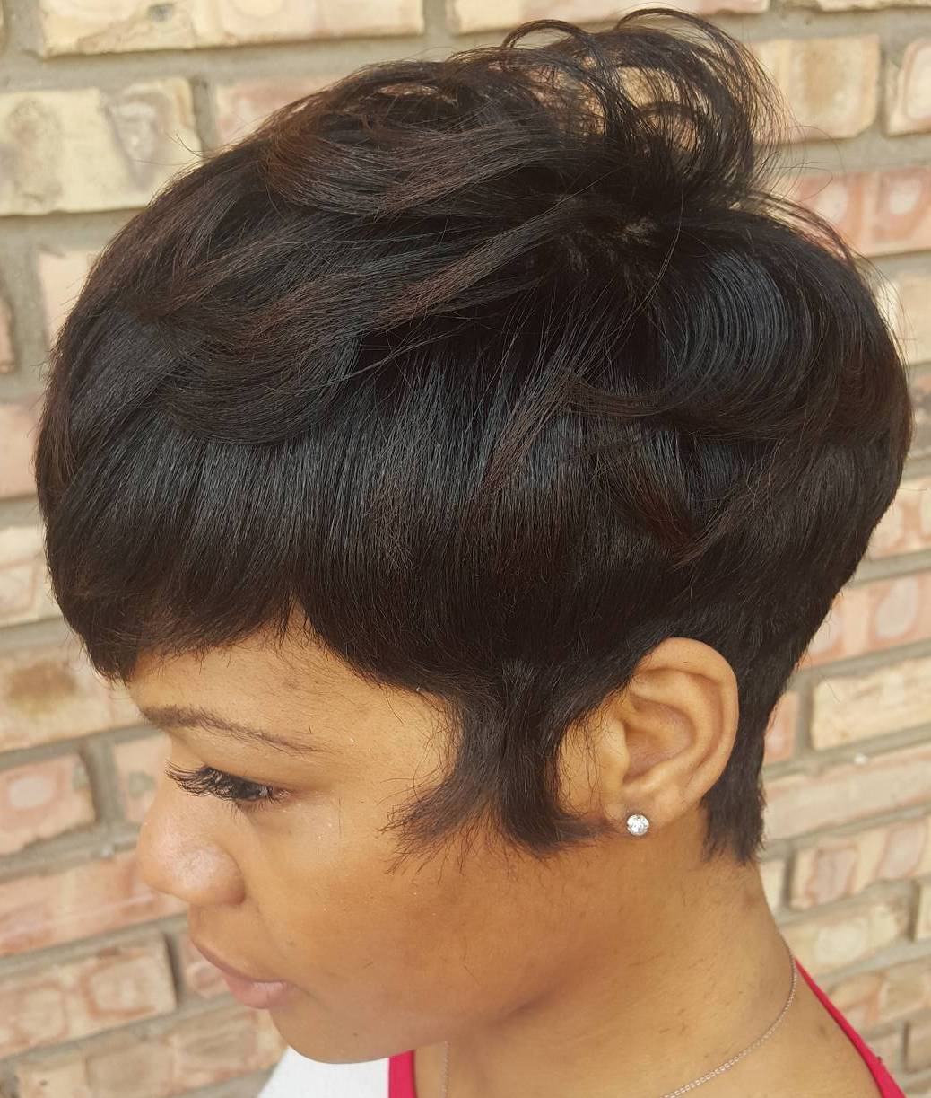African American Tapered Pixie