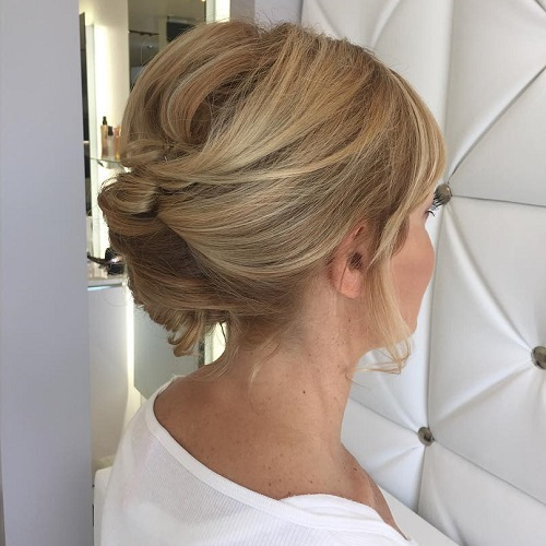 hair up styles for medium length hair 54 easy updo hairstyles for medium length hair in 2017 8326