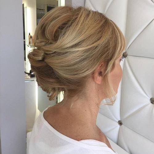 60 Easy Updo Hairstyles For Medium Length Hair In 2019