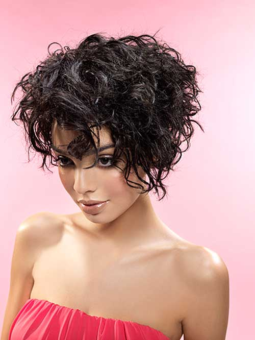 short curley hair styles 40 haircuts for with added oomph 8331 | Short curly haircuts for black women