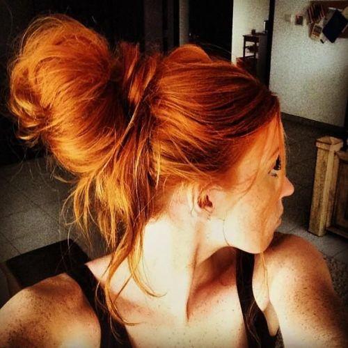 bright copper hair color