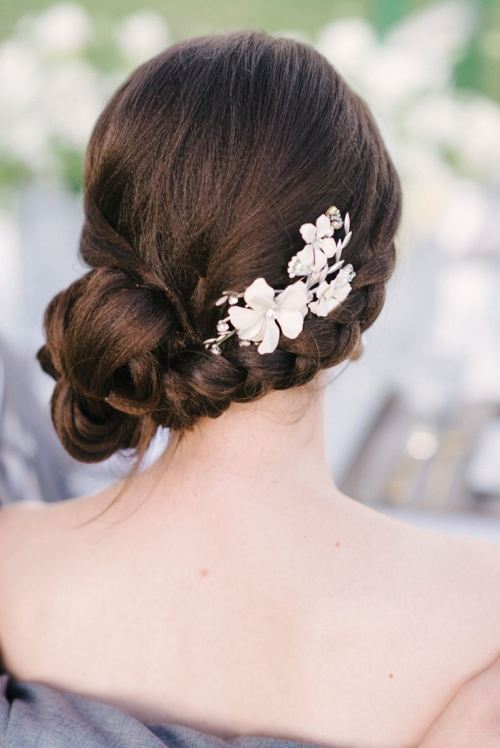 side updo for homecoming