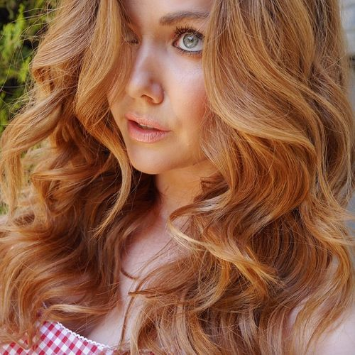 Copper Blonde Hair 100