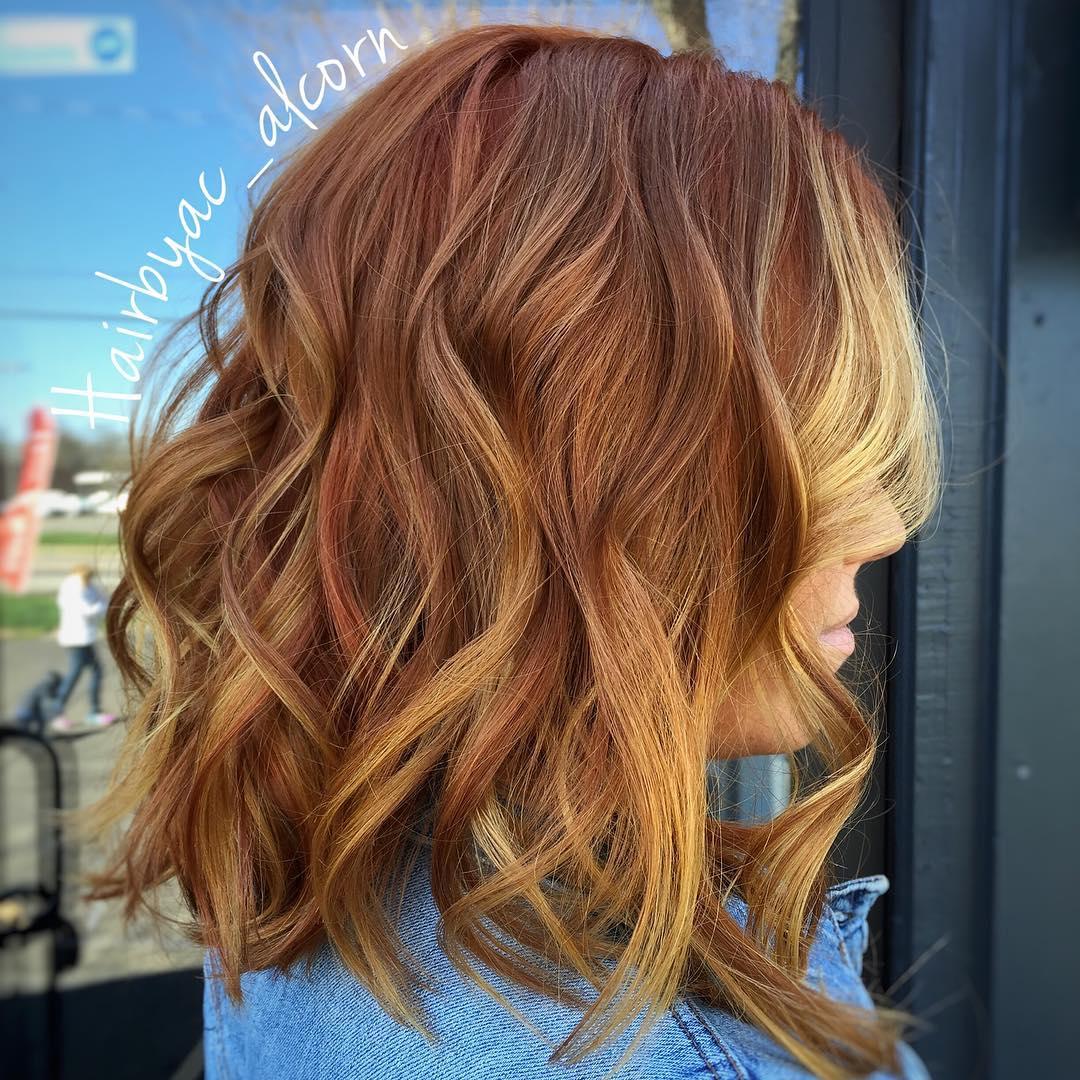 Light Copper Blonde Highlights   www.pixshark.com - Images ...
