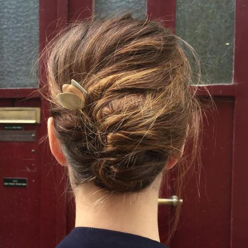 Hairstyle Girl French Roll: 40 Hottest Prom Hairstyles For Short Hair