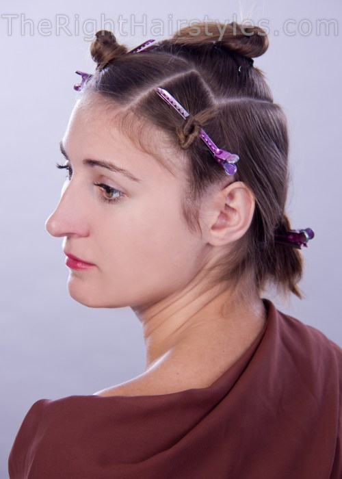 how to hair sectioning