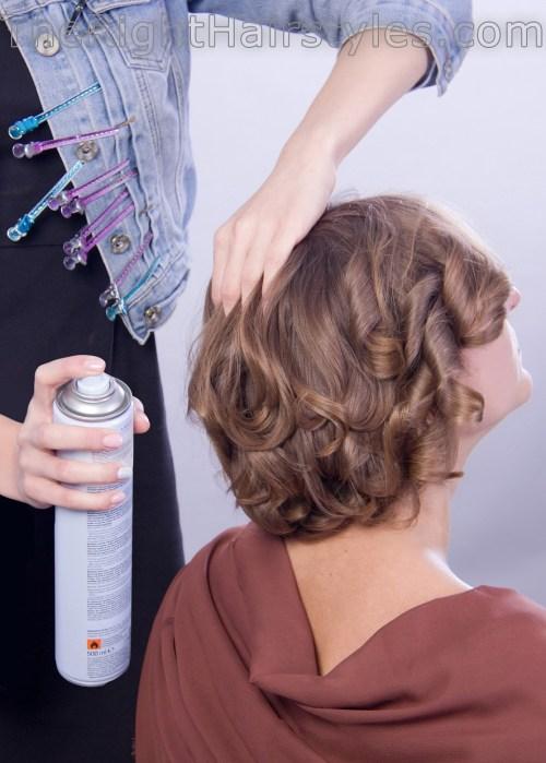 styling curls