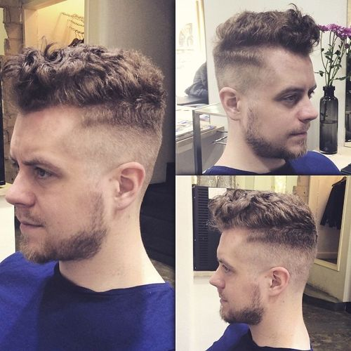 long top fade haircut for curly hair
