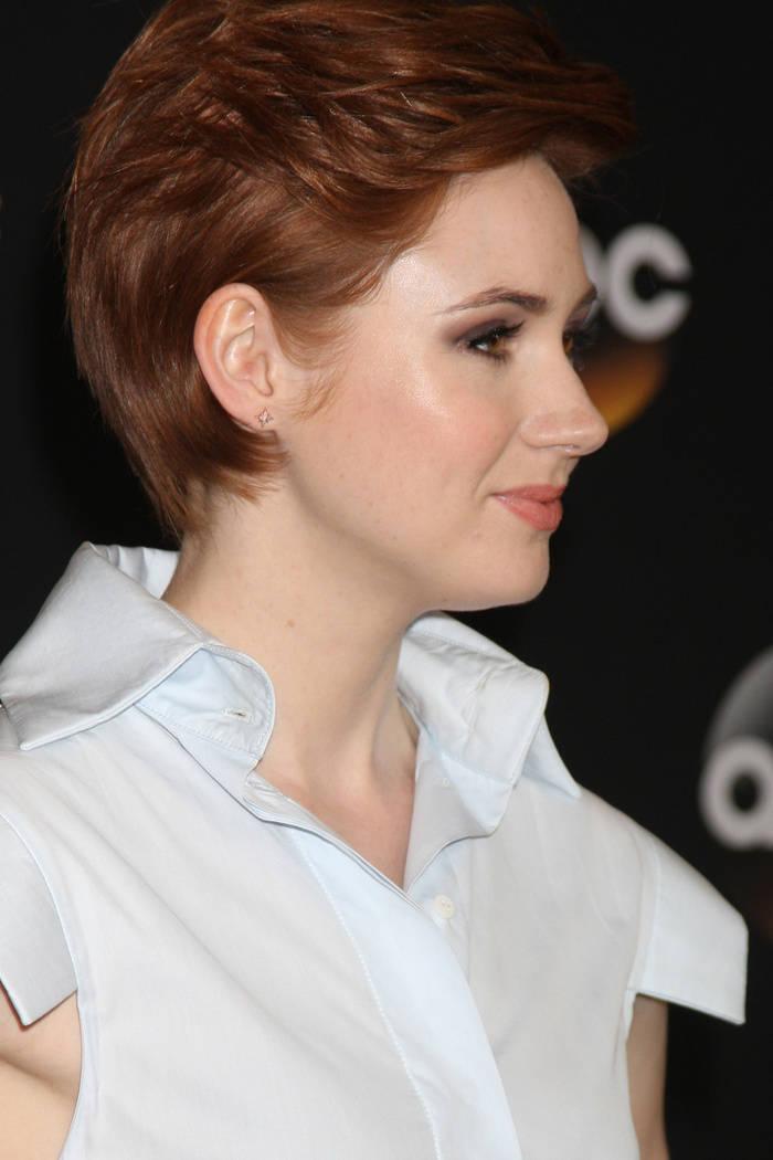 Karen Gillan Short Red Hairstyle