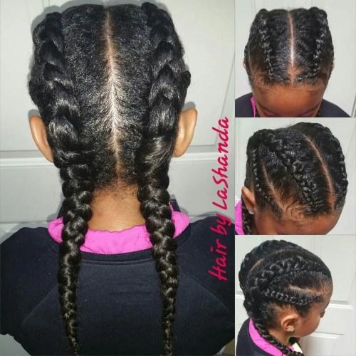 Prime Braids For Kids 40 Splendid Braid Styles For Girls Short Hairstyles For Black Women Fulllsitofus