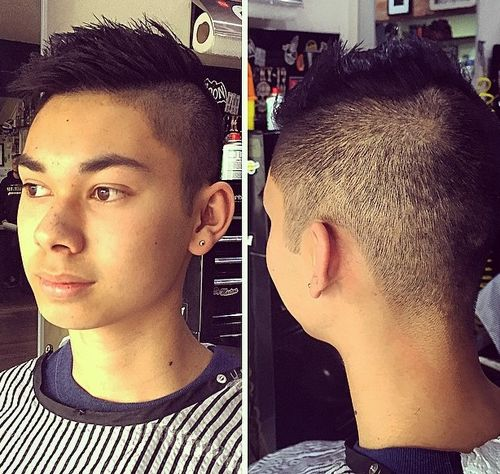 Spiked Guys Haircut