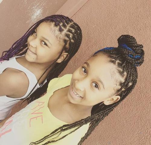 cute girls braided hairstyles
