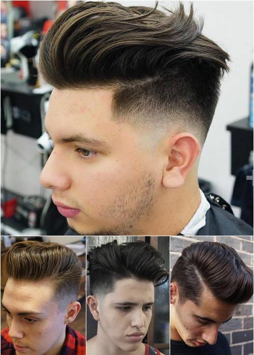 Menu0027s Pompadour Hairstyles