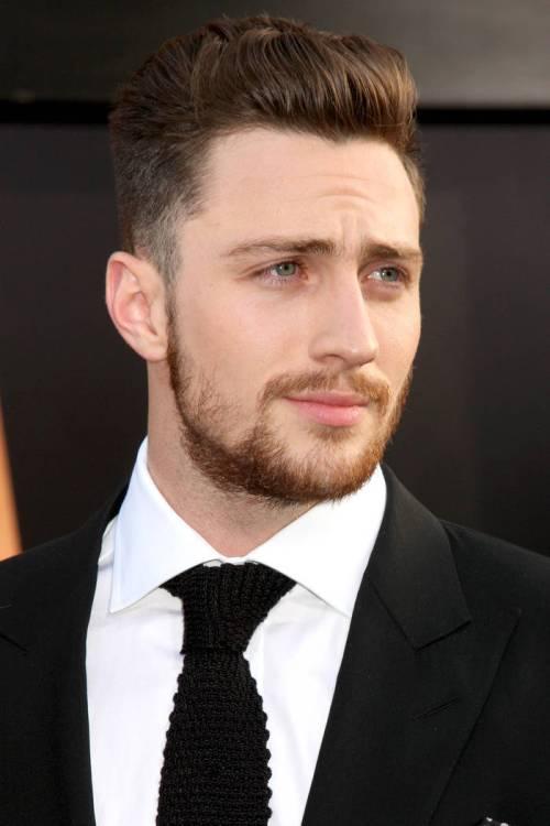 stylish short haircut for men