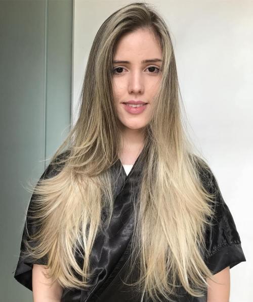 40 Stilvolle Frisuren Für Lange Blonde Haare Neue Haarmodelle