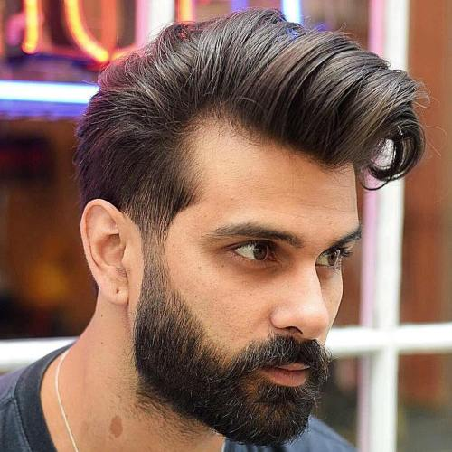 Pompadour For Receding Hairline