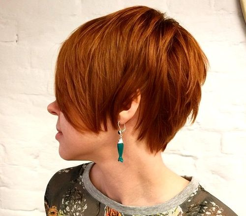 long red pixie haircut