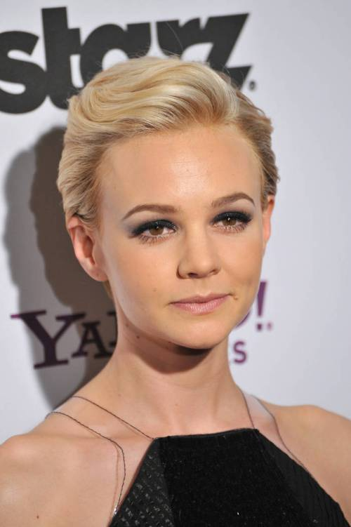 hair styles for new years eve 40 sparkly and new year hairstyles 8361 | 2 carey mulligan and her short party hairstyle for pixie cut