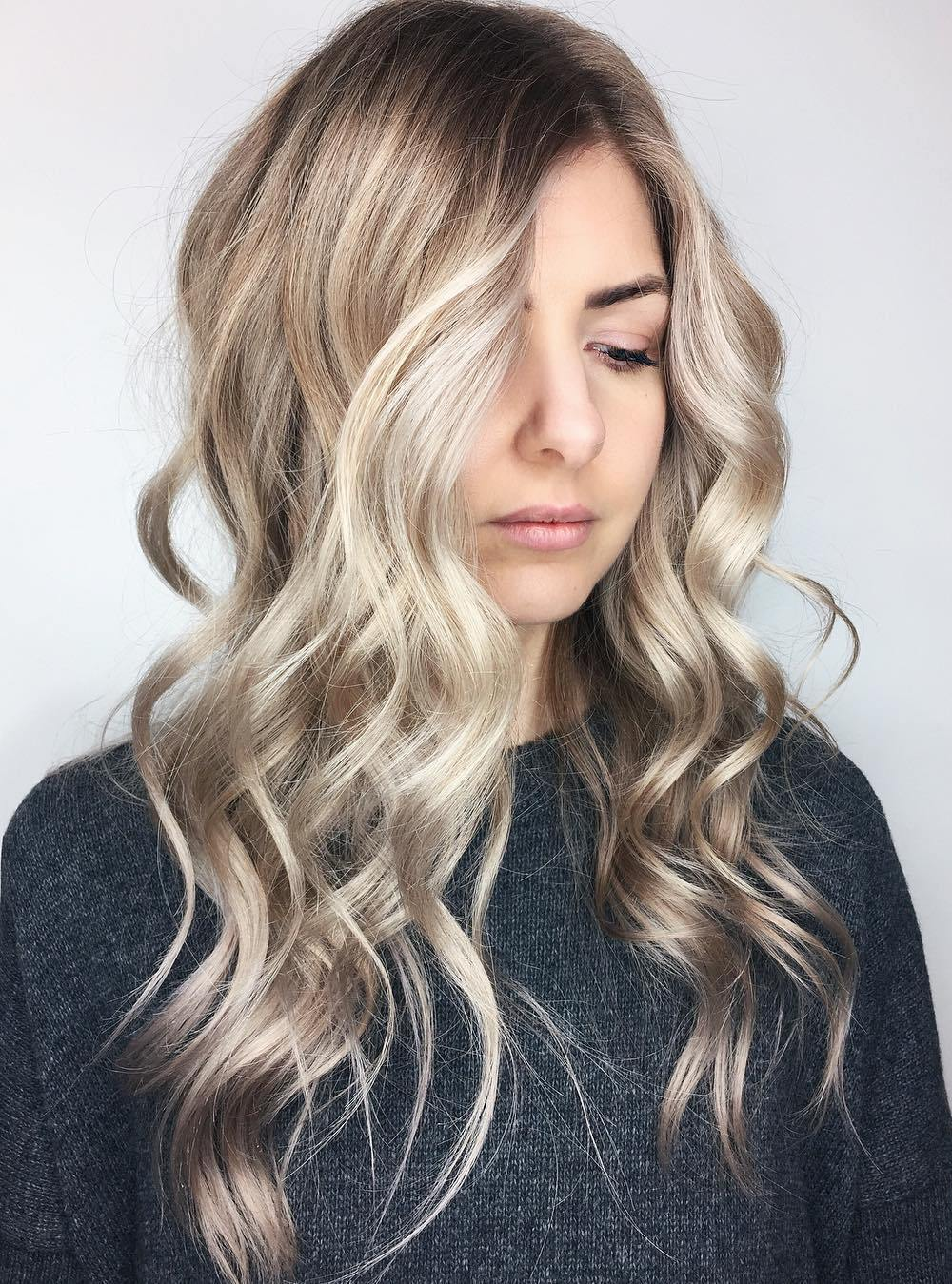 Superior Dishwater Blonde Hair With Highlights