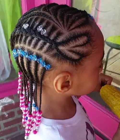 Peachy Braids For Kids 40 Splendid Braid Styles For Girls Short Hairstyles For Black Women Fulllsitofus