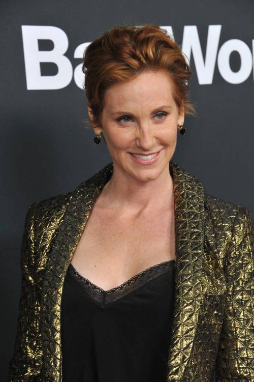 Judith Hoag short red hairstyle