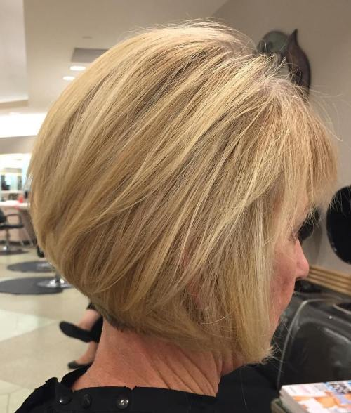 Hairstyles For Over 60 15 best short hair styles for ladies over 60 short hair short hair styles and shorter hair cuts Blonde Bob Hairstyle For Older Women