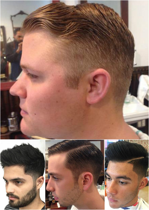 men's tapered haircuts