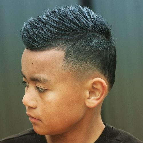 Asian Teen Haircut 103