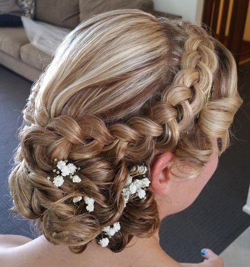 Wedding Hairstyles Braids Curls Www Pixshark Com Images Galleries With A Bite