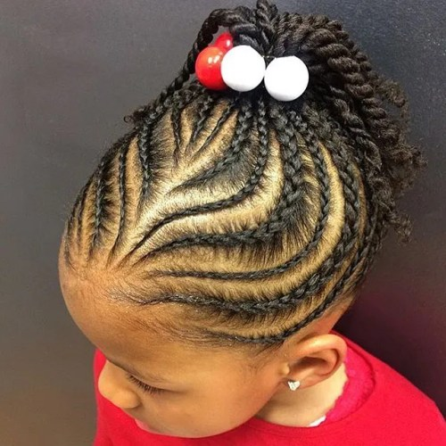 Stupendous Braids For Kids 40 Splendid Braid Styles For Girls Short Hairstyles For Black Women Fulllsitofus