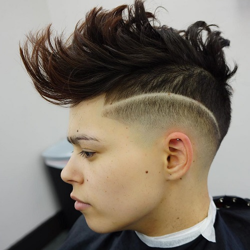 Teen Spiky Mohawk For Guys