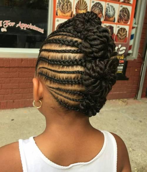 Fantastic Braids For Kids 40 Splendid Braid Styles For Girls Short Hairstyles For Black Women Fulllsitofus