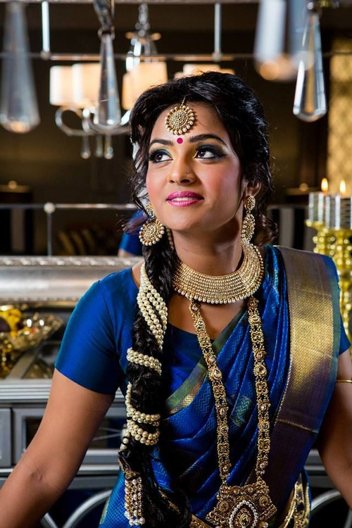 Swell Hairstyles For Indian Wedding 20 Showy Bridal Hairstyles Short Hairstyles Gunalazisus
