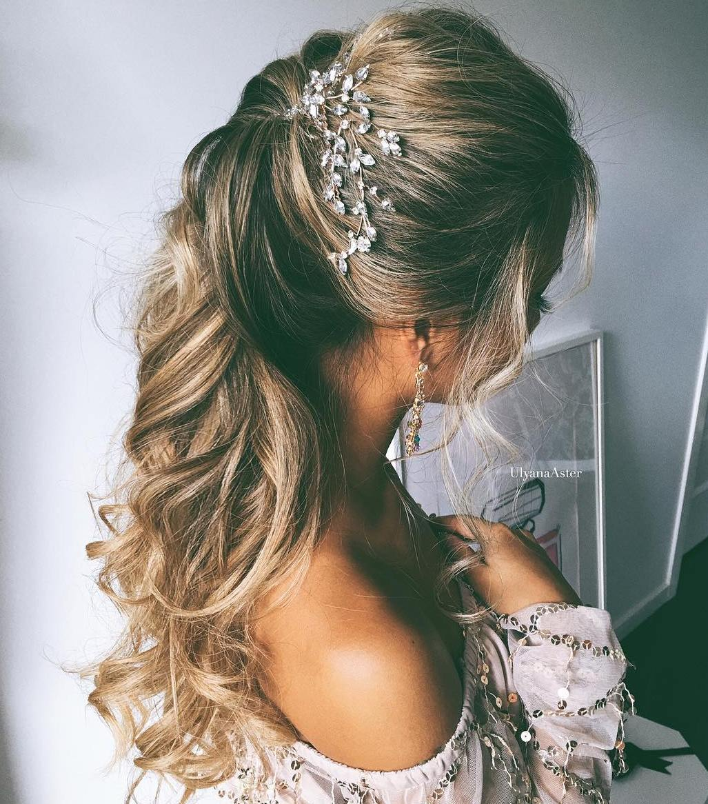 Perfect Simple Wedding Hairstyle For Long Hair
