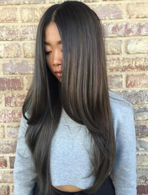 30 best hairstyles for long straight hair 2017 asian long straight hairstyle urmus Images