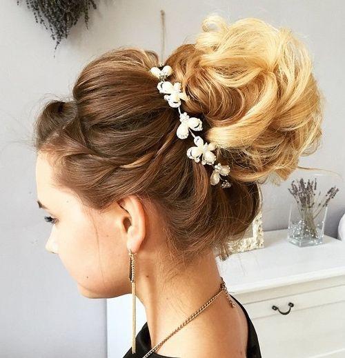 Amazing 40 Chic Wedding Hair Updos For Elegant Brides Short Hairstyles For Black Women Fulllsitofus