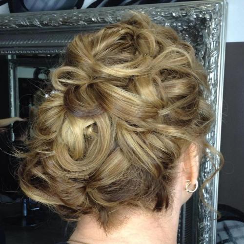 Wedding Updo For Short Hair