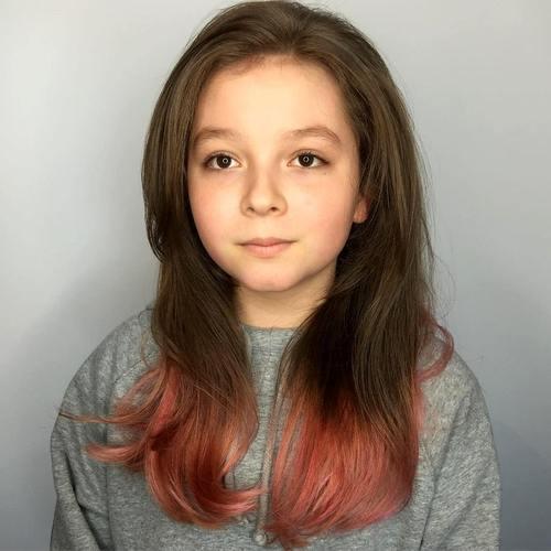 dip dye for teen girls