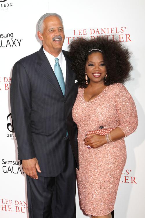 Oprah Winfrey natural hairstyle