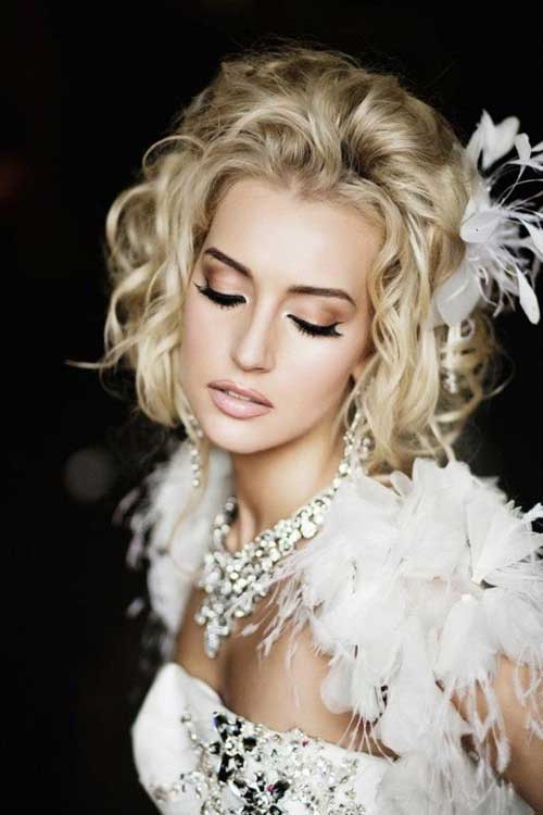 Fantastic 50 Irresistible Hairstyles For Brides And Bridesmaids Short Hairstyles Gunalazisus